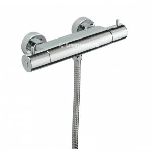Tre Mercati Lever Thermostatic Exposed Valve (82070A) with Slide Rail Kit