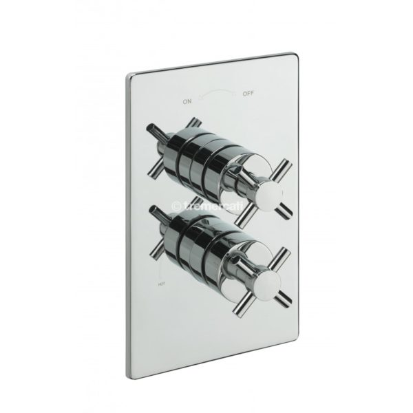 Tre Mercati Crosshead Concealed Thermostatic Shower Valve (82091)