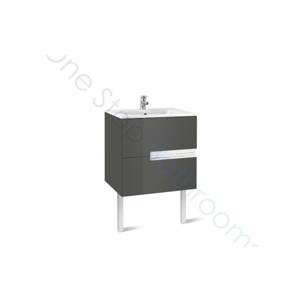 Roca Victoria-N Unik 600mm 2 Drawer Base Unit & Basin