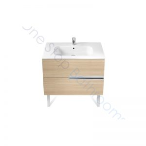 Roca Victoria-N Unik 800mm 2 Drawer Base Unit & Basin