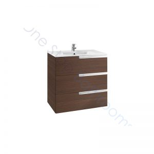 Roca Victoria-N Unik 600 x 460 x 740mm 3 Drawer Base Unit & Basin