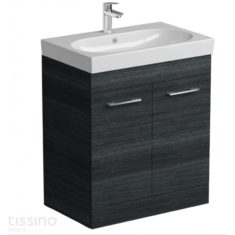 Tissino Angelo Barossa Oak 705mm Base Unit & 715mm Washbasin