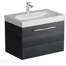 Tissino Angelo Barossa Oak 705mm Wall-Hung Unit & 715mm Washbasin