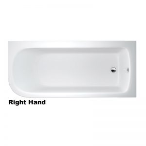 Cleargreen Viride 1700 x 750mm Offset Bath
