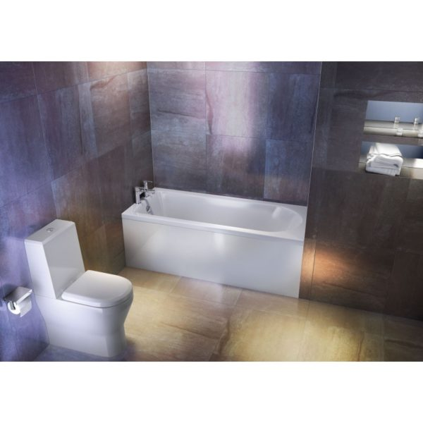 Cleargreen Reuse 1700 x 700mm Single Ended Round Bath
