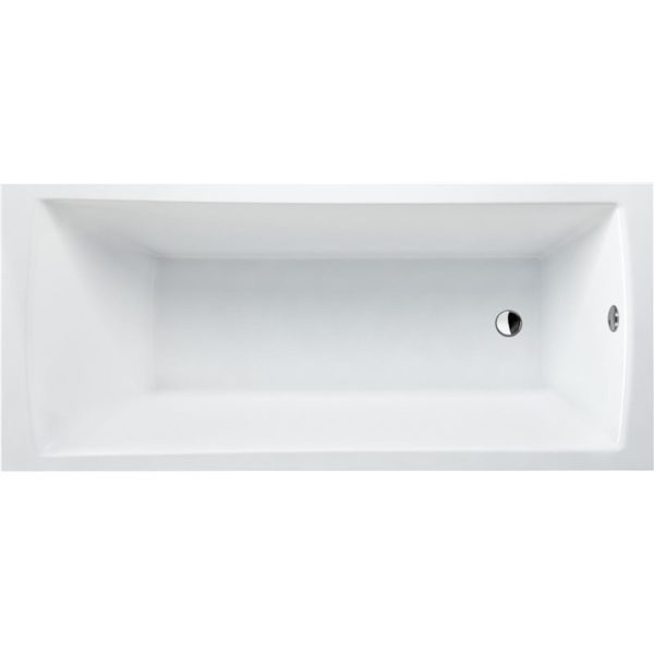 Cleargreen Sustain 1700 x 700mm Single Ended Square Bath