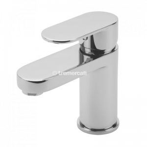 Tre Mercati Geco Mono Basin Mixer with Click Clack Waste