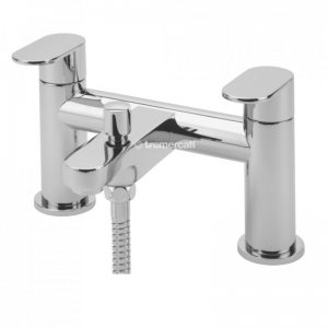 Tre Mercati Geco Pillar Bath Shower Mixer with Kit