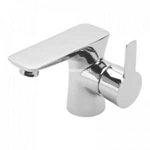 Tre Mercati Balena Mono Basin Mixer with click clack waste