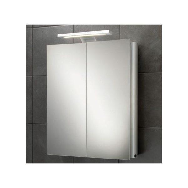 HiB Atomic Illuminated Aluminium Cabinet (42700)