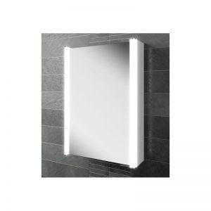 HiB Vita 50 Illuminated Aluminium Cabinet (45600)