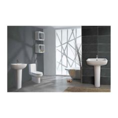 Eastbrook Andelle WC Pan, Cistern & Soft Close Seat