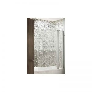 Eastbrook 6mm Bathscreen – 250mm Fixed/750mm Hinged