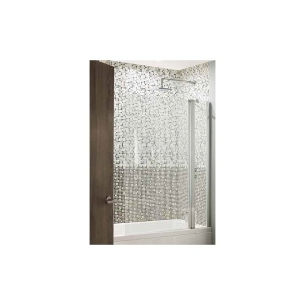 Eastbrook 6mm Bathscreen - 250mm Fixed/750mm Hinged