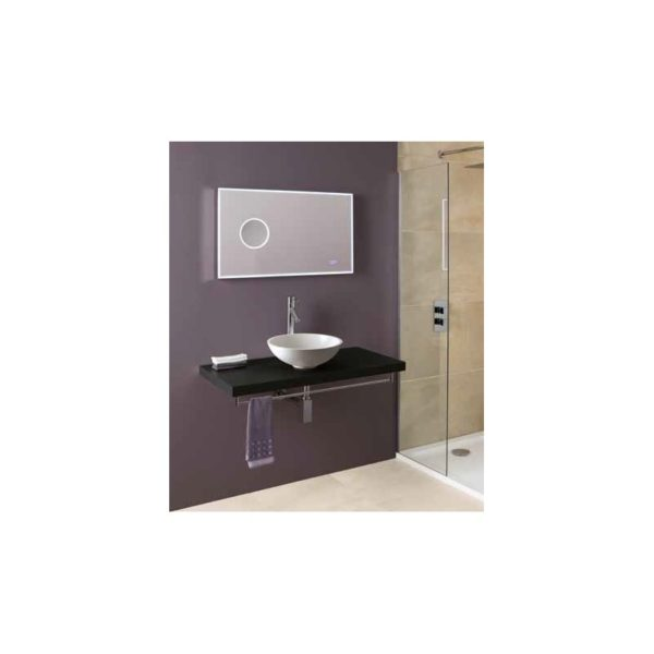 Eastbrook Seville Tableau 600mm Vanity - High Gloss White