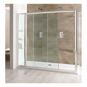 Eastbrook Volente Slider Door with In-Line Panel – 1000mm