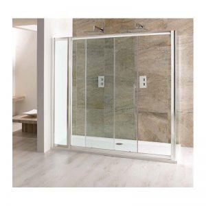 Eastbrook Volente Slider Door with In-Line Panel – 1100mm