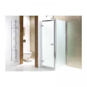 Eastbrook Volente 900mm Frosted Hinged Door