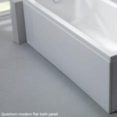 Carron Quantum Bath Front Panel 1650 x 515mm Acrylic