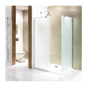 Eastbrook Volente Frosted Walk-In Wetroom Panel – 500mm