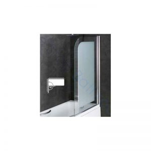 Eastbrook Volente 6mm Frosted Easy Clean Bath Screen – 1500 x 850mm