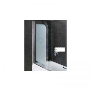 Eastbrook Volente 8mm Frosted Easy Clean Bath Screen – 1500 x 850mm