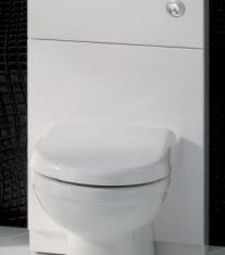 Eastbrook Oslo WC unit- White Gloss