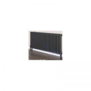 Eastbrook Rivassa 3 Column Radiator 1800 x 383mm – Matt Anthracite