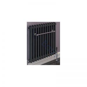 Eastbrook Rivassa 2 Column Radiator 600 x 1148mm – Matt Anthracite