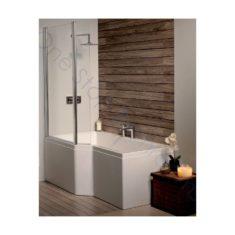 Carron Urban Edge 1675 x 850 x 420mm Acrylic Shower Bath
