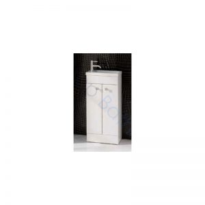 Eastbrook Oslo 39cm Door Base Unit  – Gloss White