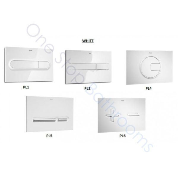 Roca Basic WC Compact Concealed Cistern with Frame