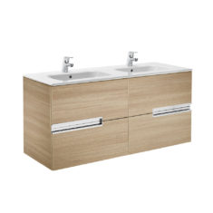 Roca Victoria-N Unik 1200 x 460 x 565mm 4 Drawer Base Unit & Basin