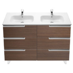 Roca Victoria-N Unik 1200 x 460 x 740mm 6 Drawer Base Unit & Basin
