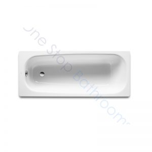 Roca Continental 1700 x 700 Recessed Cast Iron Bath – 2TH & Anti-Slip