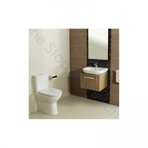 Roca Colina Comfort Height (Tall) Close Coupled WC, Cistern & Soft Close Seat
