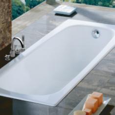 Roca Contesa Hip 1000 x 700 Recessed Steel Bath