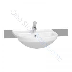 Vitra S50 Round Semi-Recessed Basin 55 x 45cm 1TH