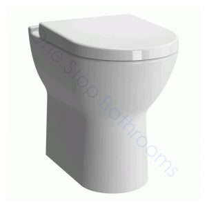 Vitra S50 Comfort Raised Height BTW WC Pan & Soft Close Seat