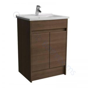 Vitra S50 60cm Floor Standing Vanity Unit and Basin 1 TH – Oak