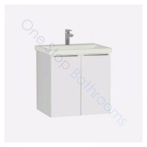 Vitra Ecora 60cm Washbasin Unit 1TH – White