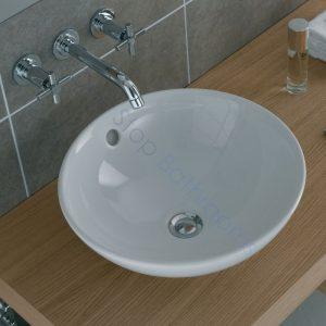 Vitra Countertop Vanity Basin 43cm No Tap Hole