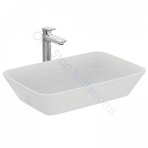 Ideal Standard Concept Air Cube 60cm 0TH Vessel Basin