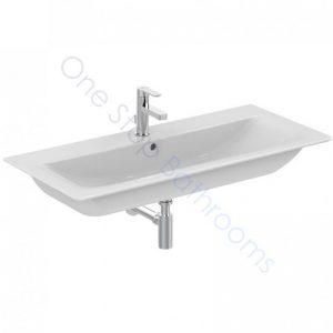 Ideal Standard Concept Air Cube 104cm 1TH Vanity Basin