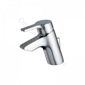 Ideal Standard Active Single Lever 1TH Basin Mixer with Pop-Up Waste