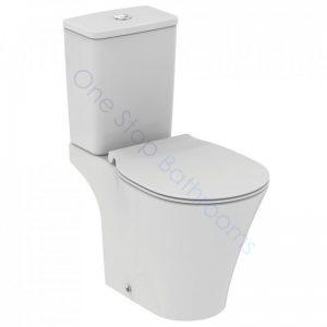 Ideal Standard Concept CC WC Pan, Cistern & Slow Close Seat