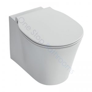 Ideal Standard Concept Wall Hung WC Pan & Soft Close Seat with Aquablade Technology