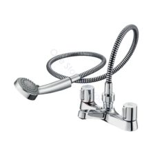 Ideal Standard Alto Dual Control 2TH Bath Shower Mixer Complete with Shower Kit and Handles