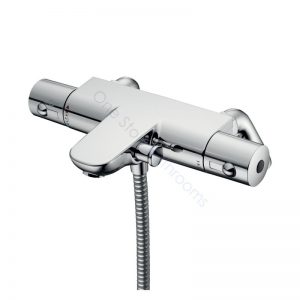 Ideal Standard Alto Ecotherm Bath/Shower Mixer with Body and Rim Mounting Legs