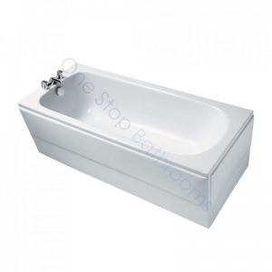 Ideal Standard Alto CT 1700 x 700 5mm Acrylic Bath with Twin Grips – No TH – 140L